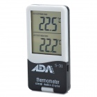 "2.0"" LCD Aquarium and Ambient Double Display Thermometer (1xAG10)"