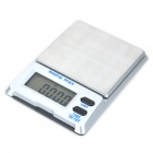 "Portable 1.4"" LCD Digital Pocket Scale - 200g/0.01g (2 x AAA)"