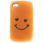 Emulational Bread Style Protective Case for Iphone 4 - Nympho Bread Pattern