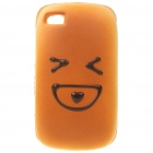 Emulational Bread Style Protective Case for Iphone 4 - Loving Heart Pattern