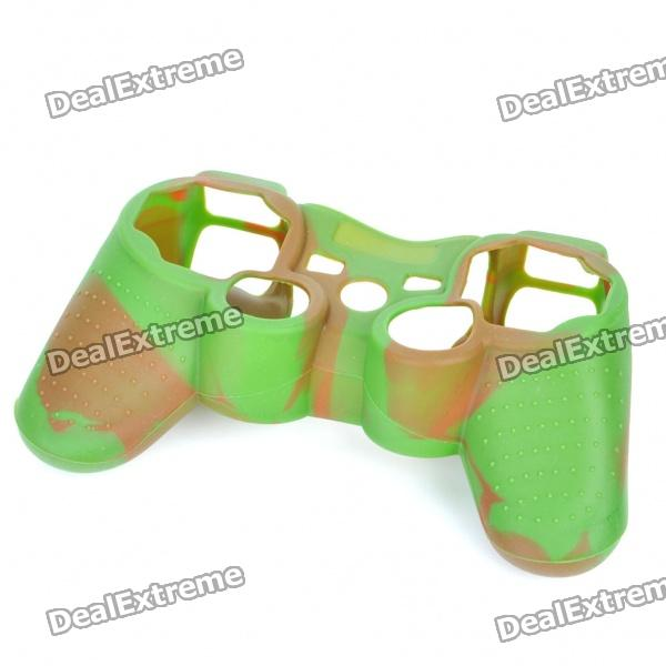Protective Silicone Case for PS2/PS3 Controller - Forest Camouflage