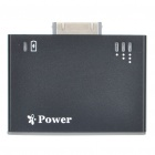 Portable 1200mAh Mobile Power Battery Charger for iPhone 4 - Black