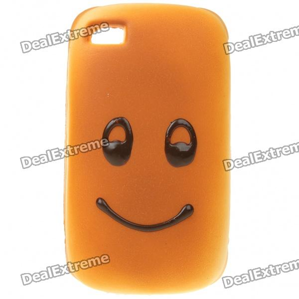 Emulational Bread Style Protective Case for Iphone 4 - Smiling Face Pattern realistic cake cell phone strap with bread fragrance assorted smiling face