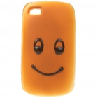Emulational Bread Style Protective Case for Iphone 4 - Smiling Face Pattern