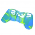 Protective Silicone Case for PS2/PS3 Controller - Blue + Green