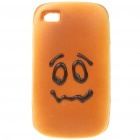 Emulational Bread Style Protective Case for Iphone 4 - Crying Guy Pattern