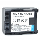 Replacement 7.4V 700mAh Battery Pack for Canon FS10/FS11/FS100