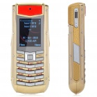 "Vertu 1.2"" LCD Screen Dual SIM Dual Network Standby Quad-band Cellphone - Golded"