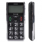 "V99 1.7"" LCD Screen Single SIM Dualband GSM Cell Phone with Torch/FM/SOS for Senior Citizens"