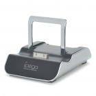 Stylish Foldable USB Data Charging Docking Station for iPhone 4/4S/3GS - Black