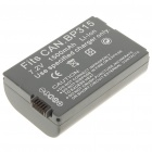 Replacement 7.2V 1500mAh Battery Pack for Canon IXY DV M5/MVX4i/Optura 600 (Actual 1400mAh)