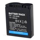 "Replacement S006/BMA7 7.4V ""710mAh"" Battery Pack for Panasonic Lumix DMC-FZ30"