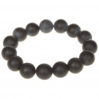Natural Stone Needle Anti-radiation Healthy Bracelet for Male - Black