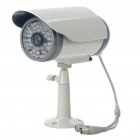 1/3 CMOS Water Resistant Surveillance Security Camera w/ 48-LED IR Night Vision/TF Slot (3.6mm Lens)