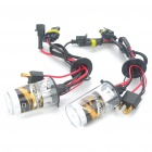 BlackEagleEyes H4 35W 6000K 3600-Lumen White Light HID Headlamps (DC 12V/Pair)