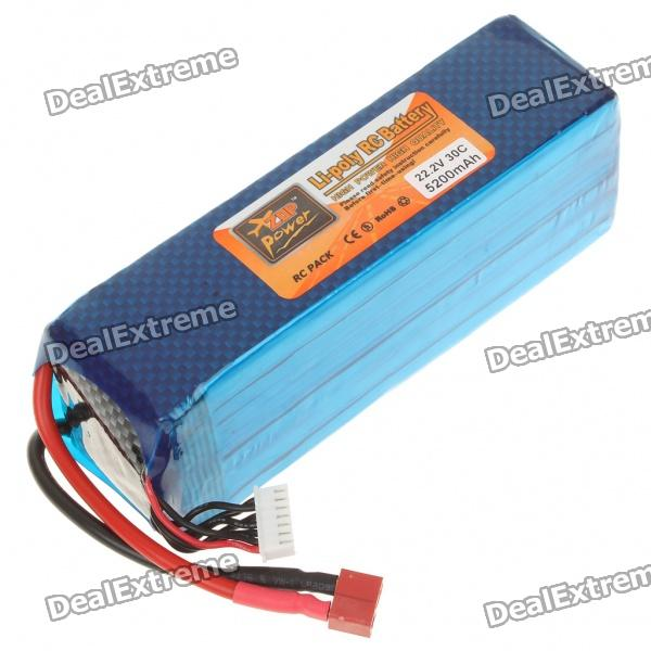 Replacement 22.2V 30C 5200mAh Li-Poly Battery Pack for R/C Helicopter от DX.com INT