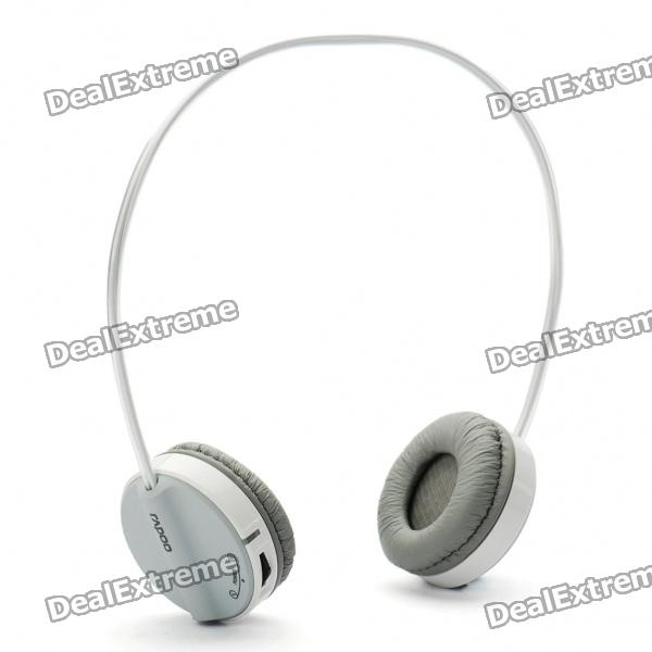 Rapoo H3070 2.4GHz Wireless Stereo Headset Headphone with Microphone & Volume Control - Grey