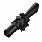 Professional Laser Sight Rifle Scope with Gun Mount (2.5~10x40)