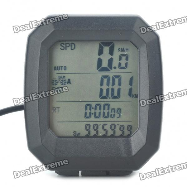 "1.5"" LCD Electronic Bicycle Speedometer (1xCR2032)"
