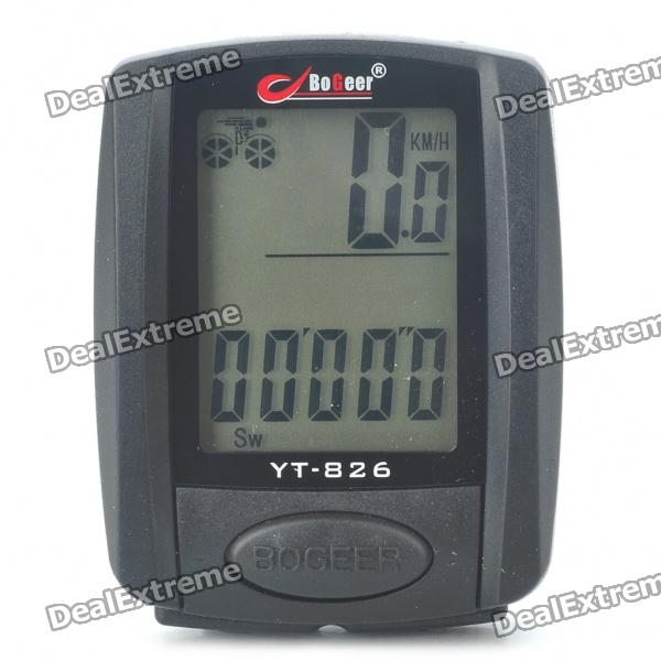 1.4 LCD Electronic Bicycle Speedometer (1xCR2032)