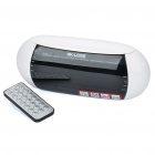 "6.3"" LED Digital Alarm Clock + FM Radio + Music Speaker w/ USB/SD/MMC (4 x AAA)"