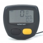"1.4"" LCD Electronic Bicycle Speedometer - Black (1xAG12)"