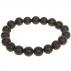 Natural Bian Stone Bead Bracelet for Ladies (19CM)