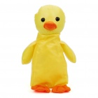 Compact Cute Duck Style Water Resistant Shopping Bag - Yellow