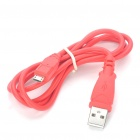 Micro USB Data/Charging Cable for HTC - Red (95CM)