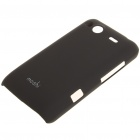 Matte Protective PC Back Case for HTC G15 - Black