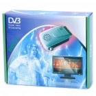 Mini DVB-T TV203 Digital Terrestrial Receiver w/ Remote Control - Silver