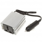 100W Car DC 12/24V to AC 220V Power Inverter w/ USB Power Port - Silver
