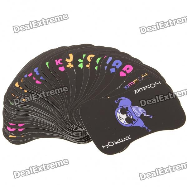 Cool Fluorescence Paper Playing Poker Cards (54-Piece Set)