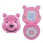 "Winnie the Pooh Watch Style 1.3"" Single SIM Quadband GSM Phone for Kids - Pink"