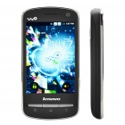 "Lenovo A60 Froyo 3.5"" Touch Screen Dual SIM 3G WCDMA plus GSM Customized Smart Phone w/ WiFi + GPS"