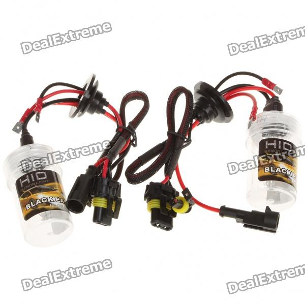 BlackEagleEyes H1 35W 6000K 3600-Lumen White Light HID Headlamps (DC 12V/Pair)