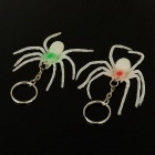 Buy Glow-in-the-Dark Plastic Spider Toys with Keychain (2-Piece Pack)