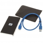 "WD 640GB 2.5 ""USB 3.0 External Hard мобильных устройств Storage Drive - Black"
