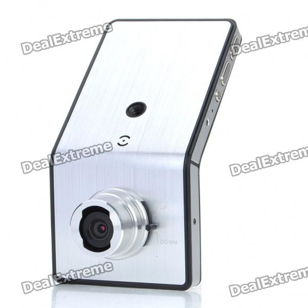 купить 720P 5MP Wide Angle Car DVR Camcorder w/ Night Vision/TV-Out/HDMI/TF - Silver (2.4