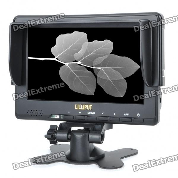 где купить  Lilliput 667GL 7 LCD Camera Monitor w/ HDMI / YPbPr / AV  дешево