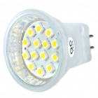 MR11 1W 3200K 100-Lumen 14x3528 SMD LED Warm White Light Bulb (220V)