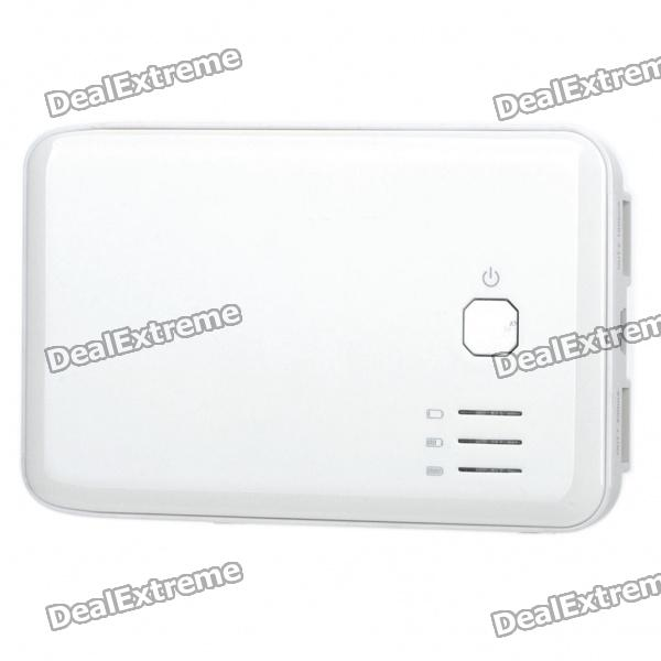 5000mAh Emergency Mobile Power Rechargeable Battery Pack with Dual USB Output