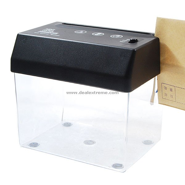 mini paper shredder Find a great collection of shredders at costco enjoy low warehouse prices on name-brand shredders products.