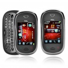 "TCL I880 2,4 ""Touch Screen Dual-Band GSM Handy w / Java / TF / QWERTY Tastaturen - Silber + Schwarz"