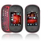 "TCL I880 2,4 ""Touch Screen Dual-Band GSM Handy w / Java / TF / QWERTY Tastaturen - rot + schwarz"