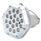 E27 0.7W 6500K 105LM 2-Mode 19-LED White Light Bulb w/ Detachable Hook & Remote Controller (80~220V)