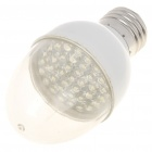 E27 2.5W 38-LED 220-240Lumen 6000-6500K White Light Bulbs (85~245V)