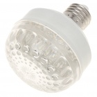 E27 4W 60-LED 240-260Lumen 3000-3500K Warm White Light Bulbs (85~245V)
