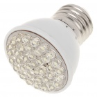 E27 2.5W 38-LED 240-260Lumen 6000-6500K White Light Bulbs (85~245V)