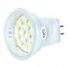 MR11 1W 6500K 100-Lumen 14x3528 SMD LED White Light Bulb (220V)
